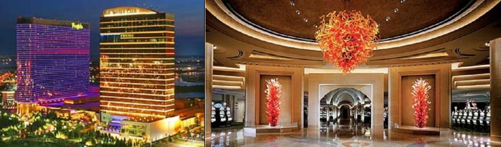 The Borgata Hotel Complete exterior and interior view
