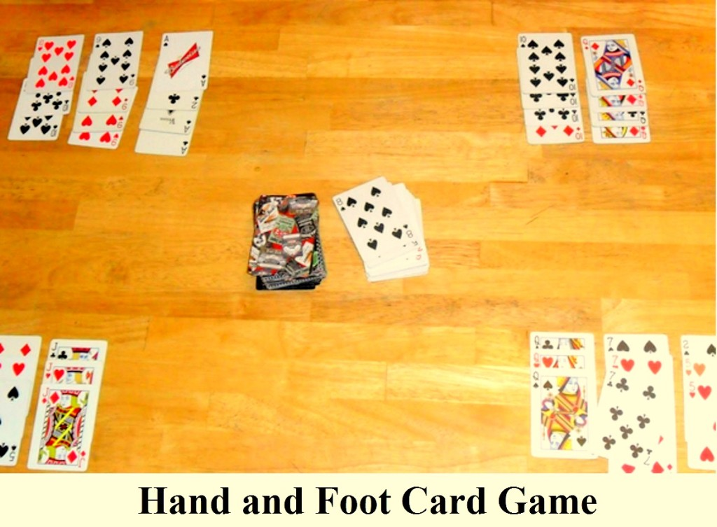 can you play 5 handed canasta