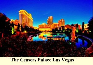 The Ceasers Palace Las Vegas