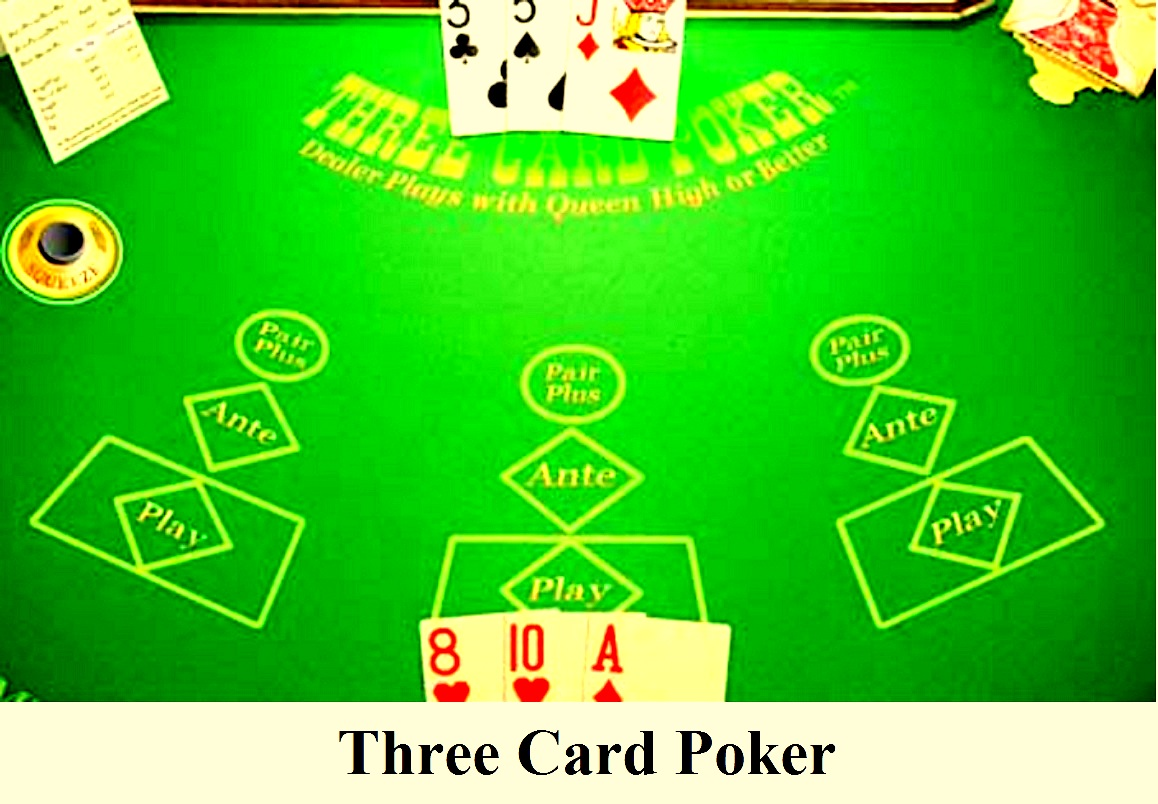 3 card poker pairs only