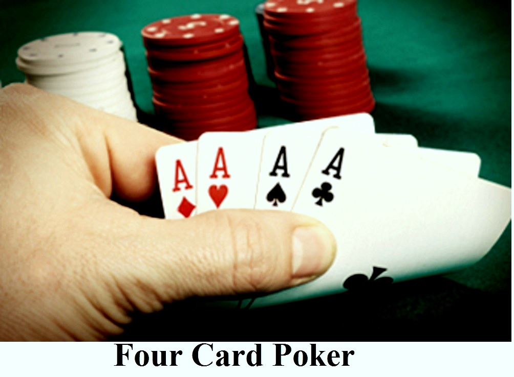 how to play 4 card crazy poker card
