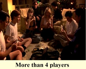 strip poker for more than 4 players