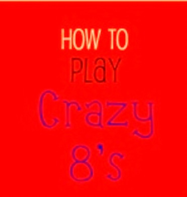 how to play crazy 8 card game rules